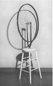 Marcel Duchamp, Bicycle Wheel, 1913