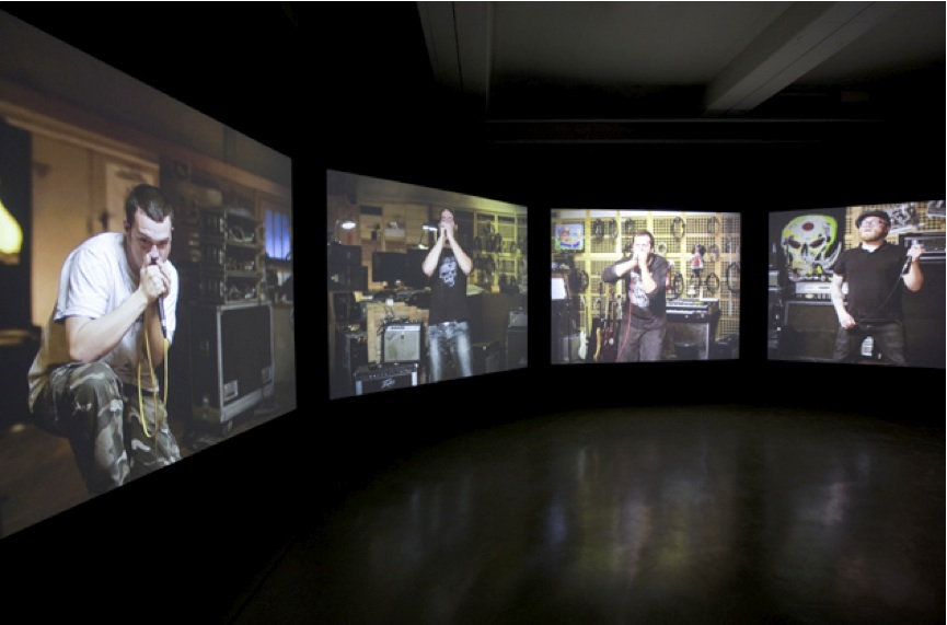Matt Stokes, Cantata Profana, installation view at Baltic (2011).