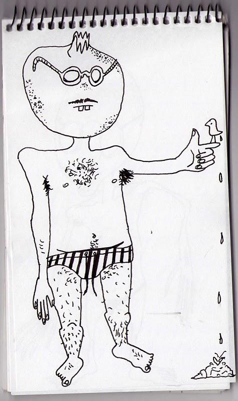 Emily Lines Greek life drawings