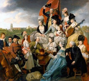 "Johan Zoffany, ""The Sharp Family"", 1779-81, oil on canvas"