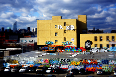 5Pointz From the No. 7 Train ©C Kirkpatrick