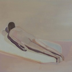 "Eve Ackroyd ""Double Portrait"", 2012, 81.3 x 66 cm, oil on canvas."