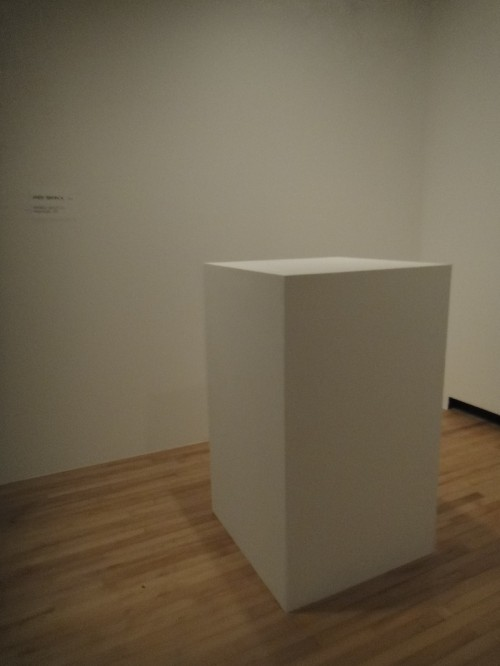 """Andy Warhol """"Invisible Sculpture"""""""