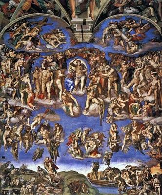 499px Michelangelo Giudizio Universale 02