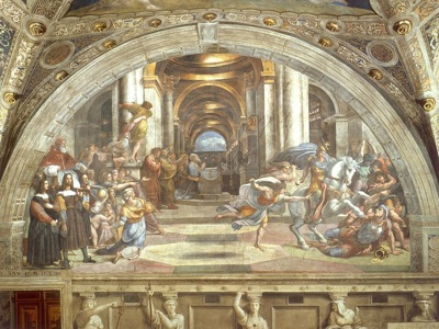 797px Raphael The Expulsion of Heliodorus from the Temple