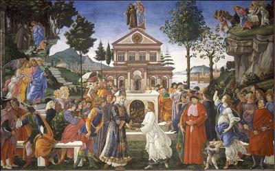 800px 05 Tentaciones de Cristo Botticelli