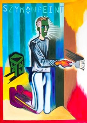 Simon Paints by Szymon Urbanski