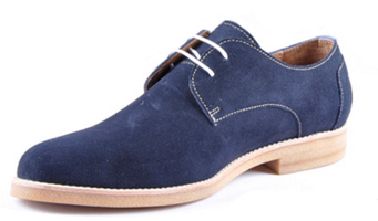 Brooklyn derby shoes in navy Antoine + Stanley AW13