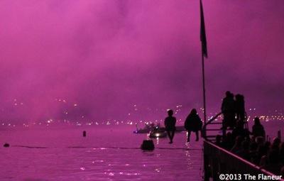 Purple lake zurich flaneur