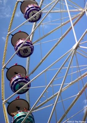 Zurich big wheel flaneur