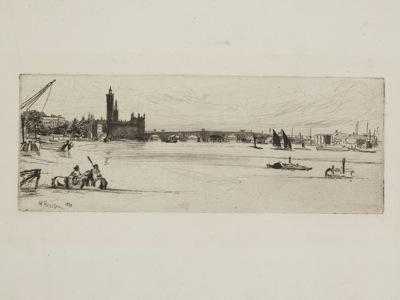 James Abbott McNeill Whistler  Old Westminster Bridge 1871  64 6 1