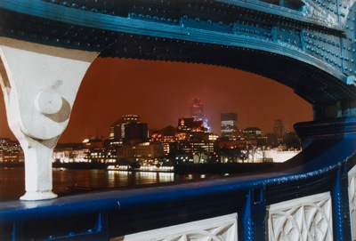 Marion Davies  The City from Tower Bridge