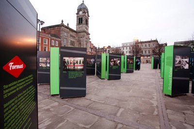 2 FORMAT11 RIGHT HERE RIGHT NOW exhibition Take to the Streets Magnum Market Place image Graham Lucas Commons