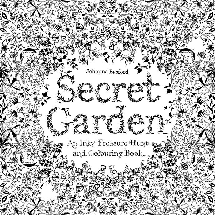 Everyday Art Colouring Books For Adults From Johannabasford The