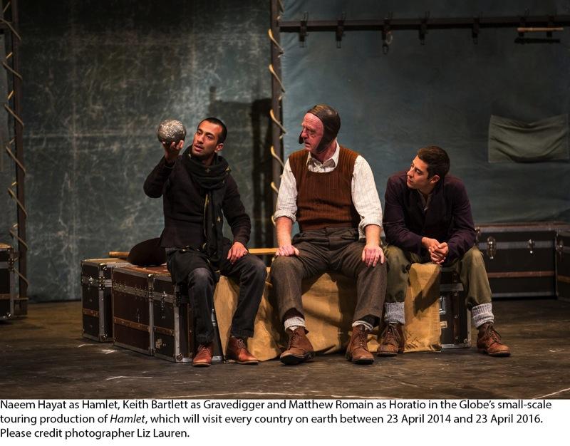 Hamlet at Chicago Shakespeare Theater USA 28 Jul 2014 Photo Liz Lauren