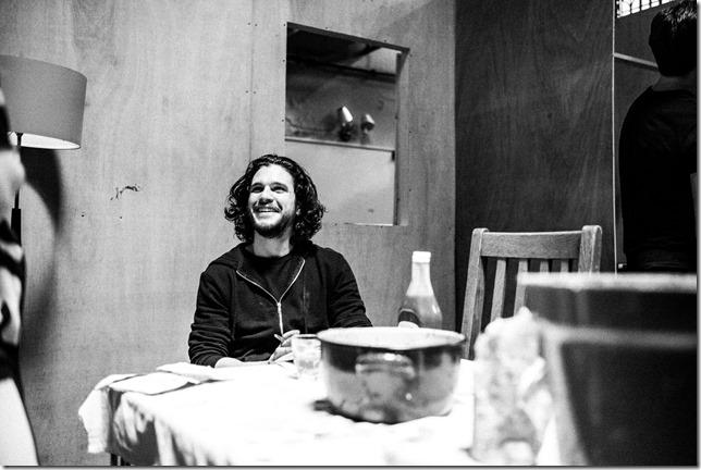 Kit Harington in rehearsals for Doctor Faustus. Picture Matt Humphrey   -332